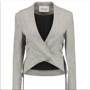 Derek Lam 10 Crosby Gray Tweed Blazer Size 4